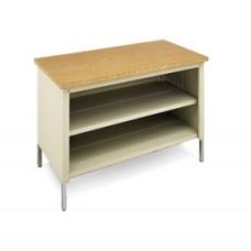 "48""W X 30""D Extra Deep Storage Table with Center Shelf"