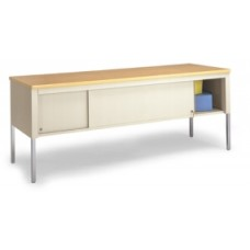 "72""W x 30""D Standard Table With Sliding Locking Door"