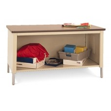 "60""W x 36""D Extra Deep Open Storage Table"