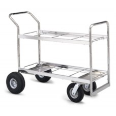 Long Double-Decker Literature/Mail Cart Frame