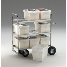 Tote Cart With 9 Totes