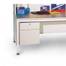 3 Shelf Storage Shelves with 20 Pocket Elevated Sorter