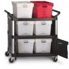 Tote Transport/Locking Cabinet