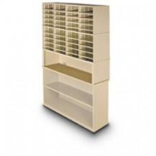 2 Shelf Storage Shelves with 44 Pocket Sorter