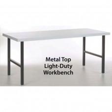 Metal Top Light-Duty Workbench