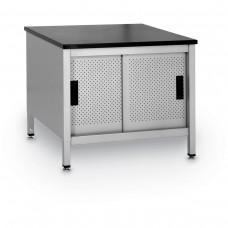 "Modular Table w/ Storage Shelf and doors 33"""