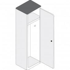 "Wardrobe Locker - 18"" x 14"" x 65"""